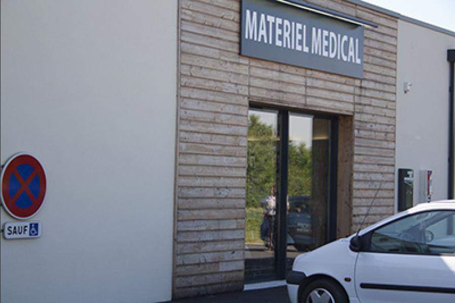 Chantier pharmacie prahecq